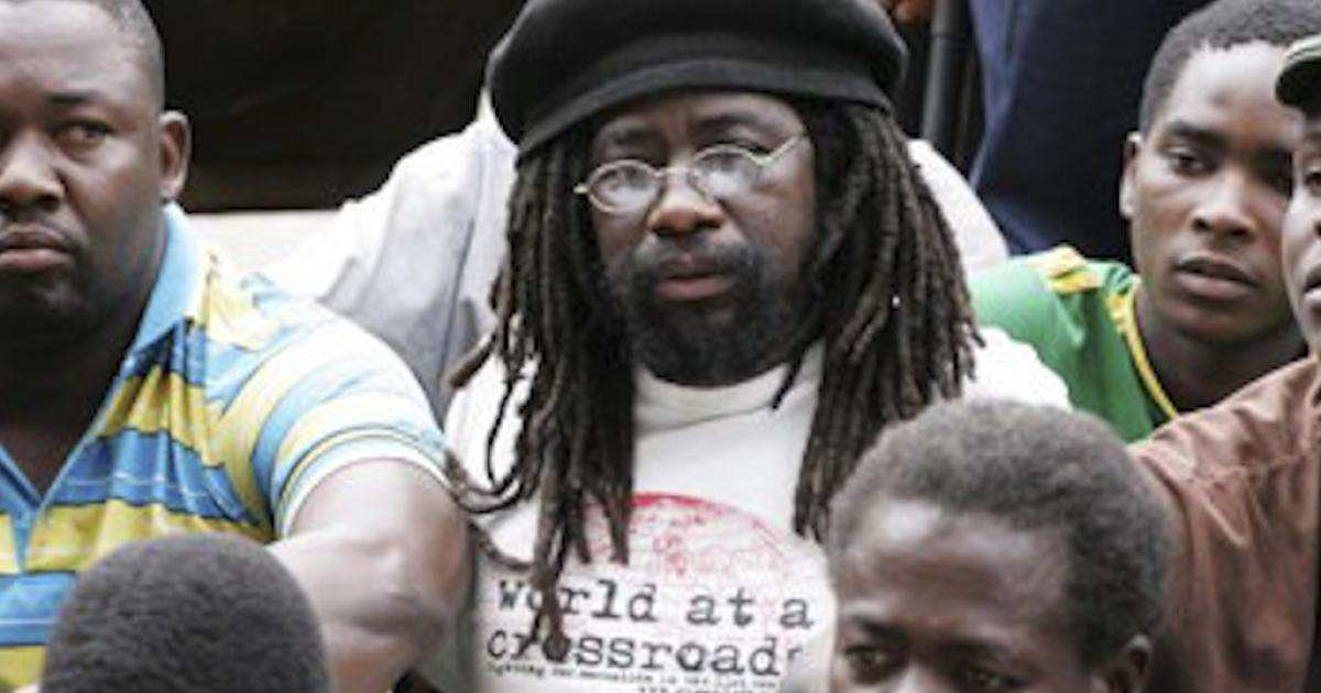 Munyaradzi Gwisai, a University of Zimbabwe lecturer and former member of parliament, and five other people were found guilty March 19, 2012, of conspiracy to incite public violence for last year watching videos of the Arab Spring uprisings.</p>