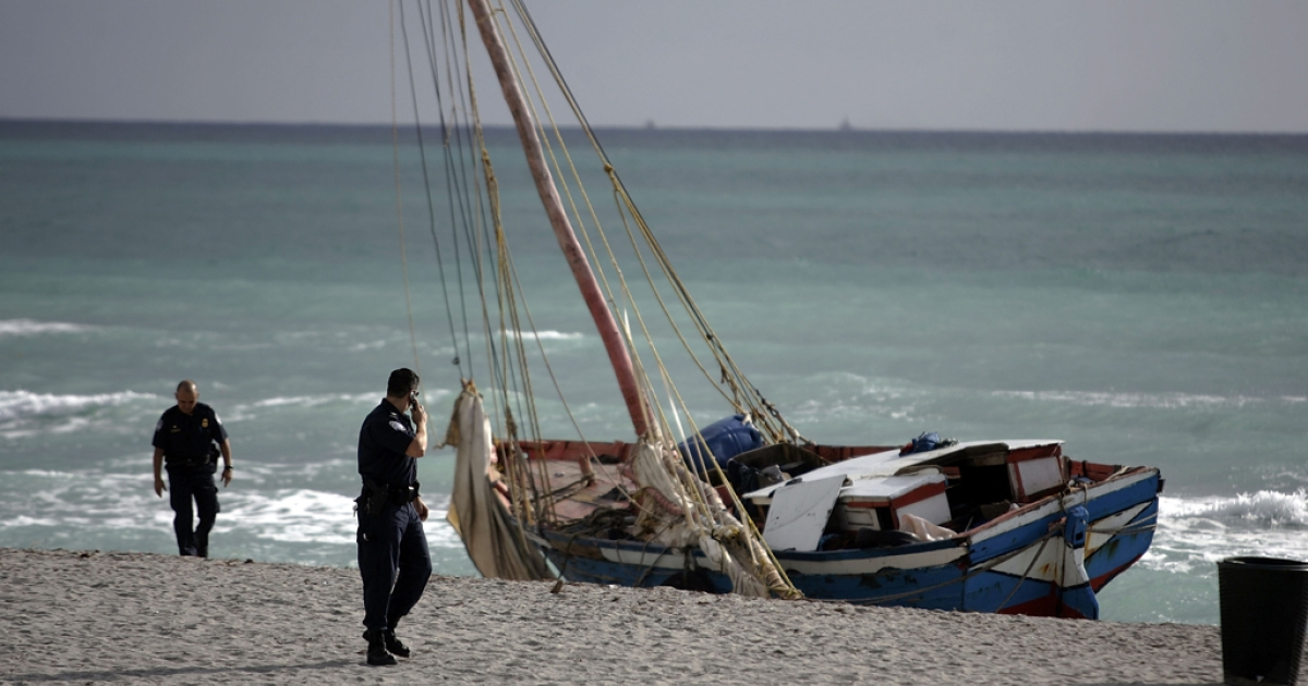 Capsizing boats is an unfortunately common problems for migrants traveling by boat to the US. In 2007, one man died after a sailboat carrying more than 100 Haitian migrants landed in Miami.</p>