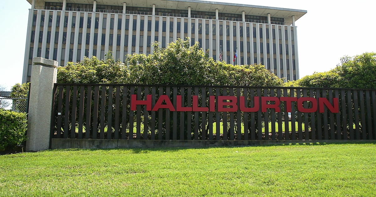 Halliburton Co. in Houston.</p>