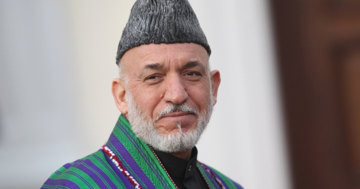 Afghan President Hamid Karzai</p>