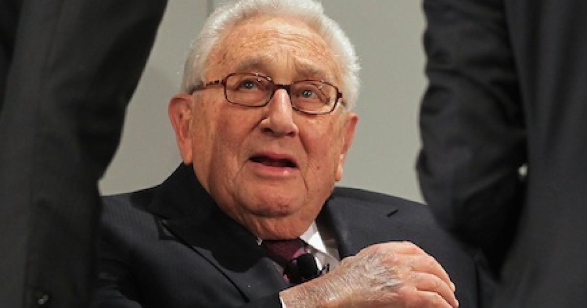 Former U.S. Secretary of State Henry Kissinger</p>