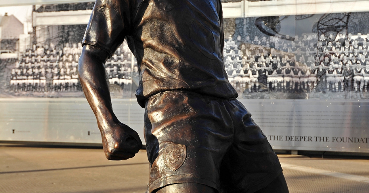 Thierry Henry is already immortalized in bronze outside Arsenal's Emirates' Stadium.  Will he recapture that form at the age of 34?</p>
