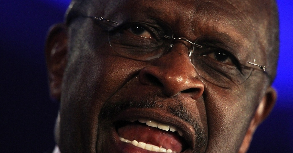 Herman Cain, a Republican presidential hopeful, said that U.S. communities should be able to prevent the construction of mosques in their neighborhoods.</p>
