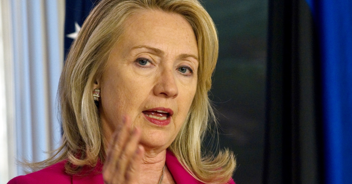 US Secretary of State Hillary Clinton met with Saudi Arabian King Abdullah to discuss strategies on Syria on March 30, 2012.</p>