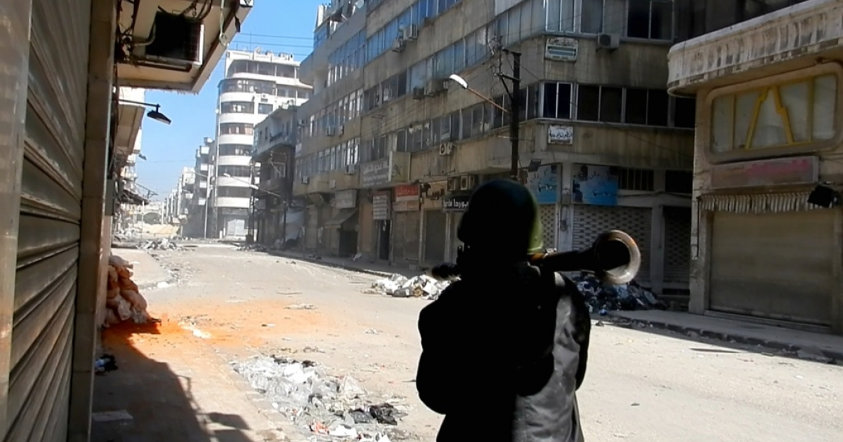 Devastation in Homs is proof that Syrian rebels don't have the firepower to beat Syrian army, but they have other ways of removing the Assad regime.</p>