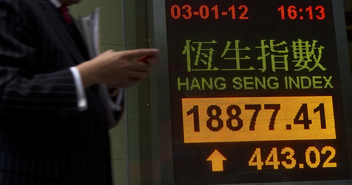 Global shares were higher Monday on hopes Greece will remain in the euro zone.</p>