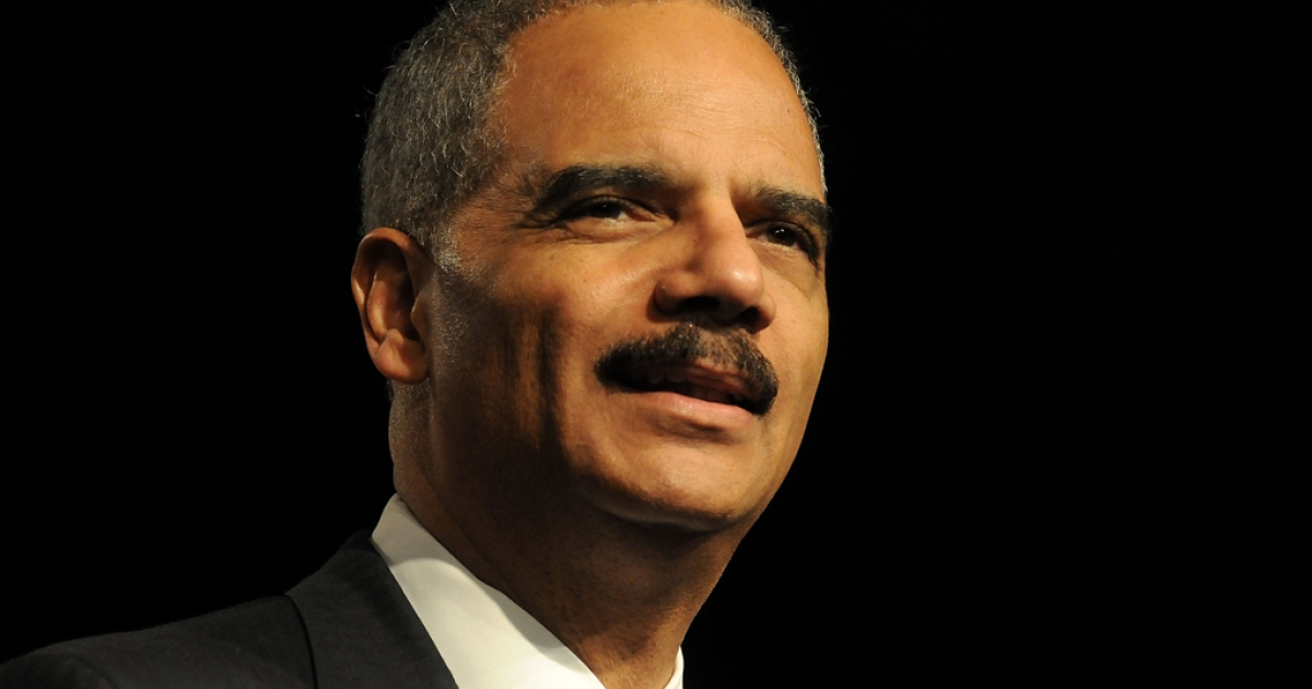 Attorney General Eric Holder addresses 83rd LULAC National Convention on June 28, 2012 in Lake Buena Vista, Florida. The House of Representatives will vote today on a contempt of Congress charge against Holder.</p>