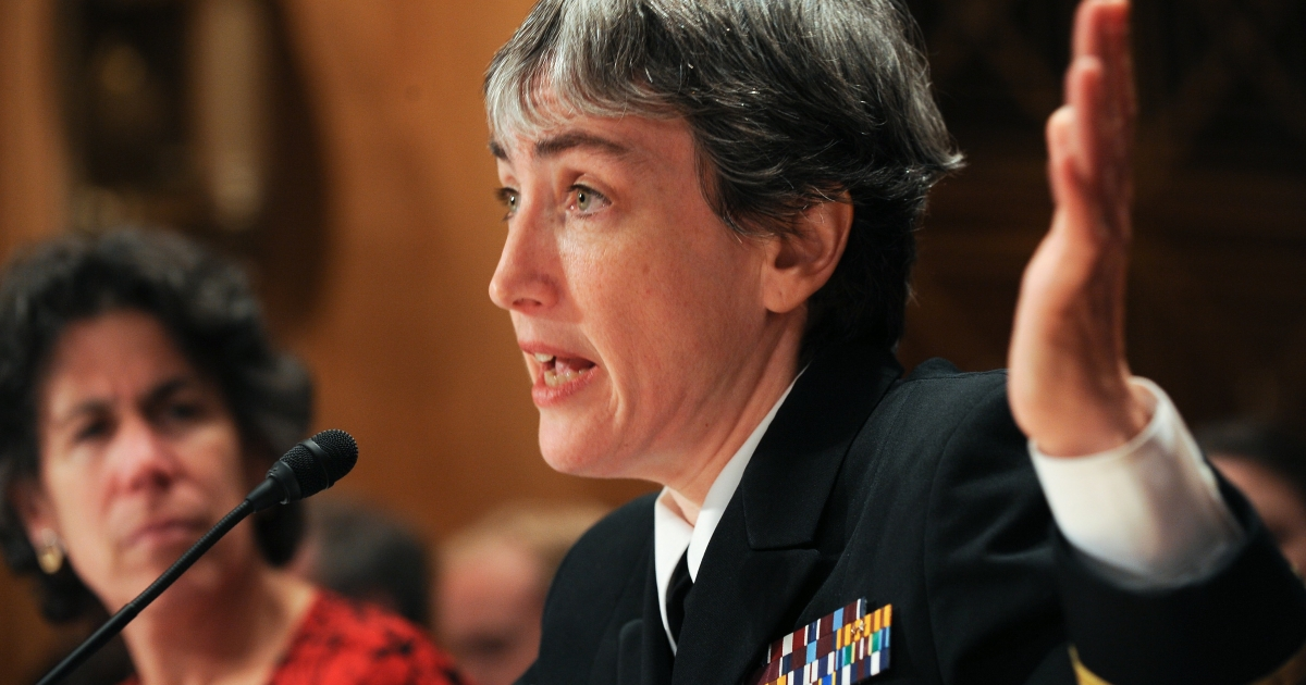 Dr. Anne Schuchat, director of the National Center for Immunization and Respiratory Diseases at the Centers for Disease Control and Prevention, speaks at a hearing on Capitol Hill in Washington, D.C., in 2009.</p>