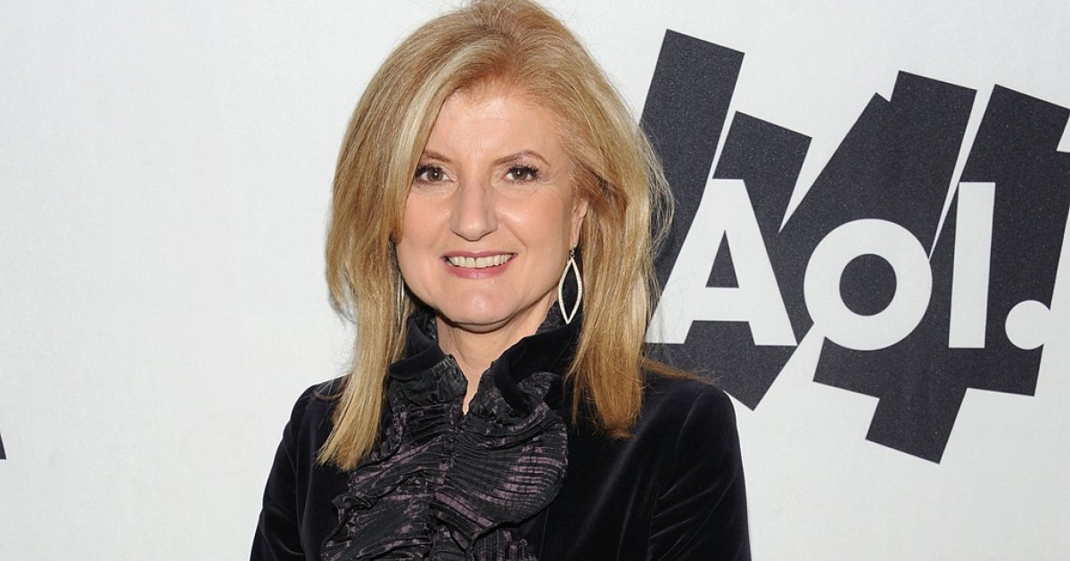 Co-founder and editor-in-chief of The Huffington Post, Arianna Huffington on February 5, 2011. The publication won its first Pulitzer for National Reporting, for David Wood's