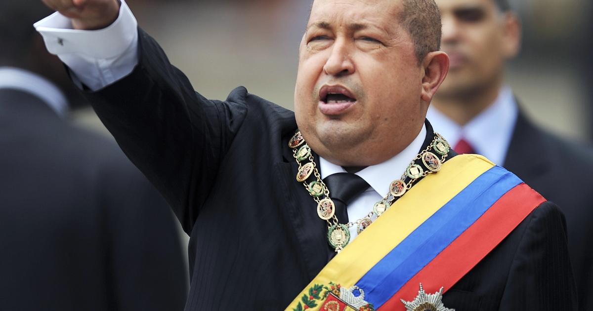 Venezuelan President Hugo Chavez.</p>