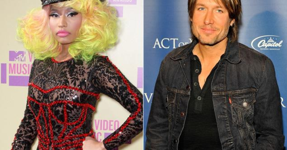Singer/rapper Nicki Minaj and country star Keith Urban will join judges Randy Jackson and Mariah Carey for season 12 of American Idol.</p>