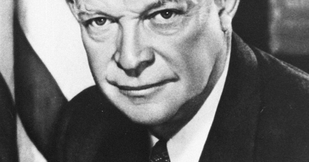 Dwight David Eisenhower - a Republican President today's UK Labour Party can do business with.</p>