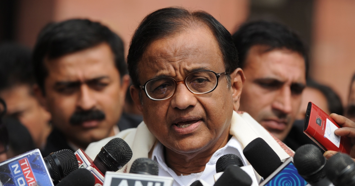 Indian Home Minister P. Chidambaram told reporters that two men allegedly linked to the Pakistan-based Lashkar-e-Taiba (LeT) group had been arrested at the Delhi's main train station carrying explosives.</p>