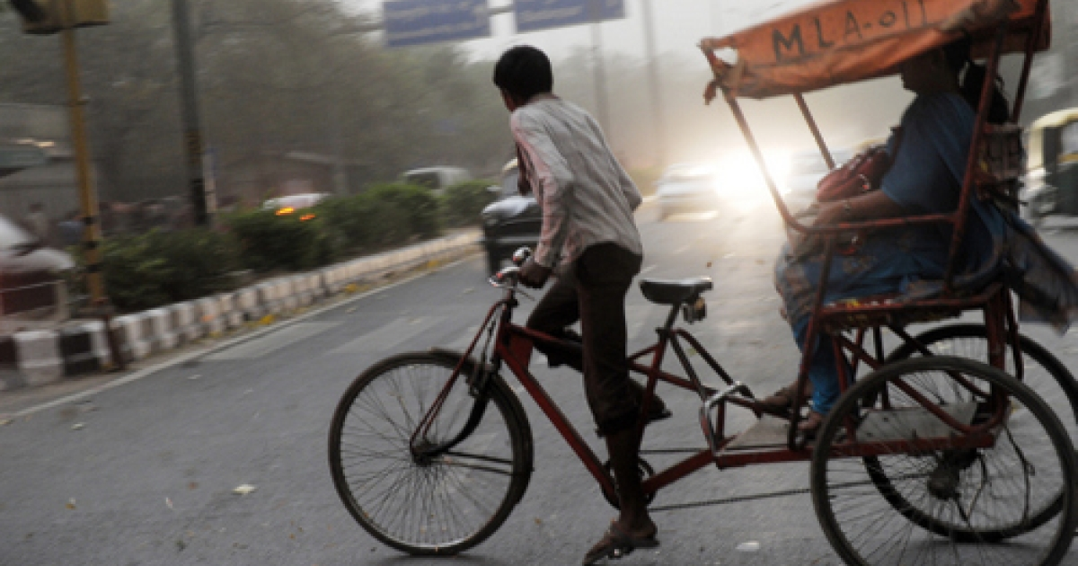Zero emissions: Some Indian communities, and even rickshaw pullers, are fighting for their right to walk and bicycle.</p>
