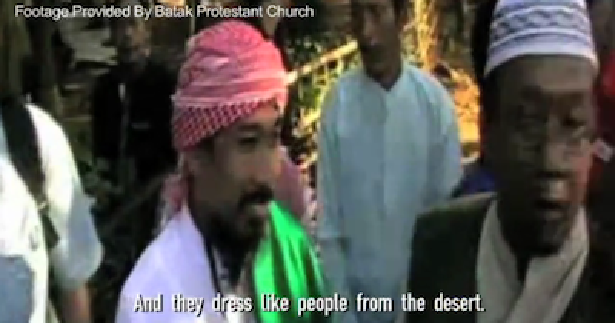 Suspended chapter head of Indonesia's Islamic Defenders Front, Murhali Barda, from a 2010 Global Post video.</p>