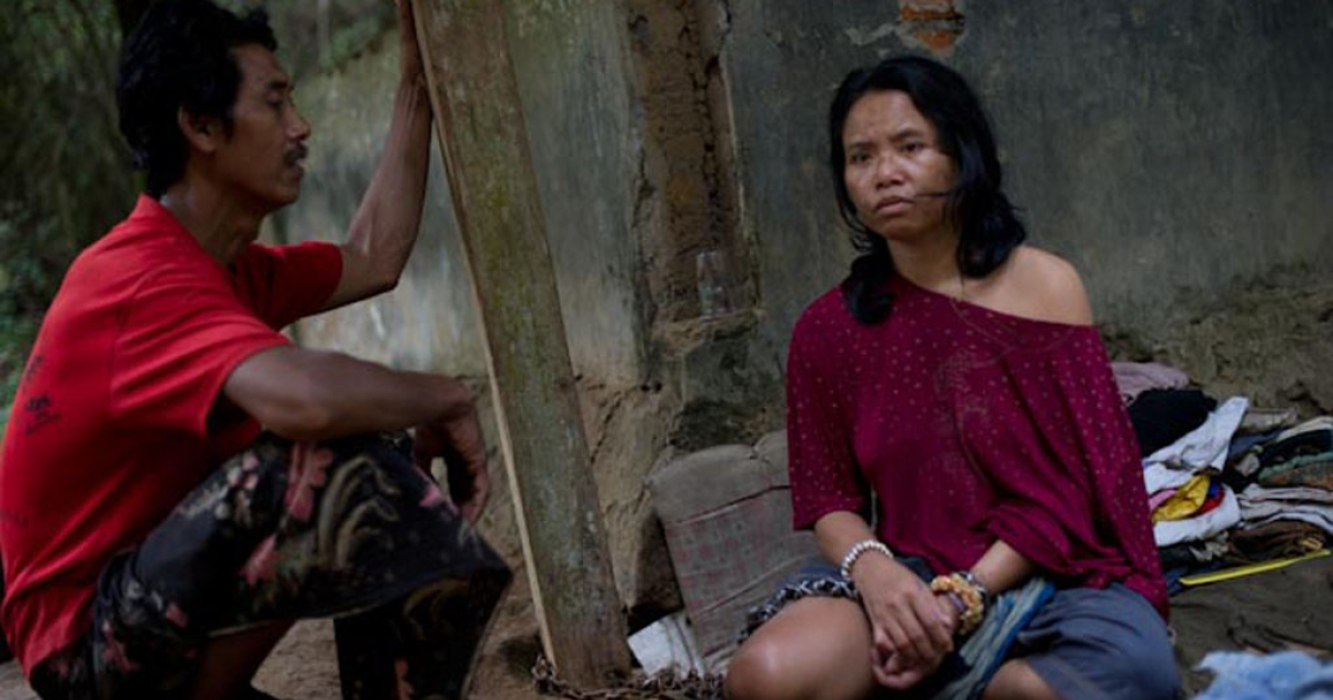 Nengah, 35, suffers from schizophrenia. Until recently, her family on Bali in Indonesia kept her chained to a concrete pit for nearly a decade.</p>