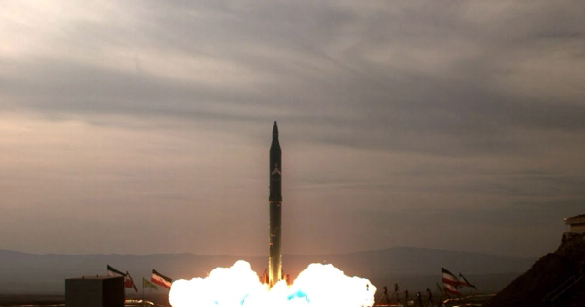 The test-firing at an undisclosed location in Iran of an improved version of the Sejil 2 medium-range missile which the Islamic republic says can reach targets inside Israel.</p>