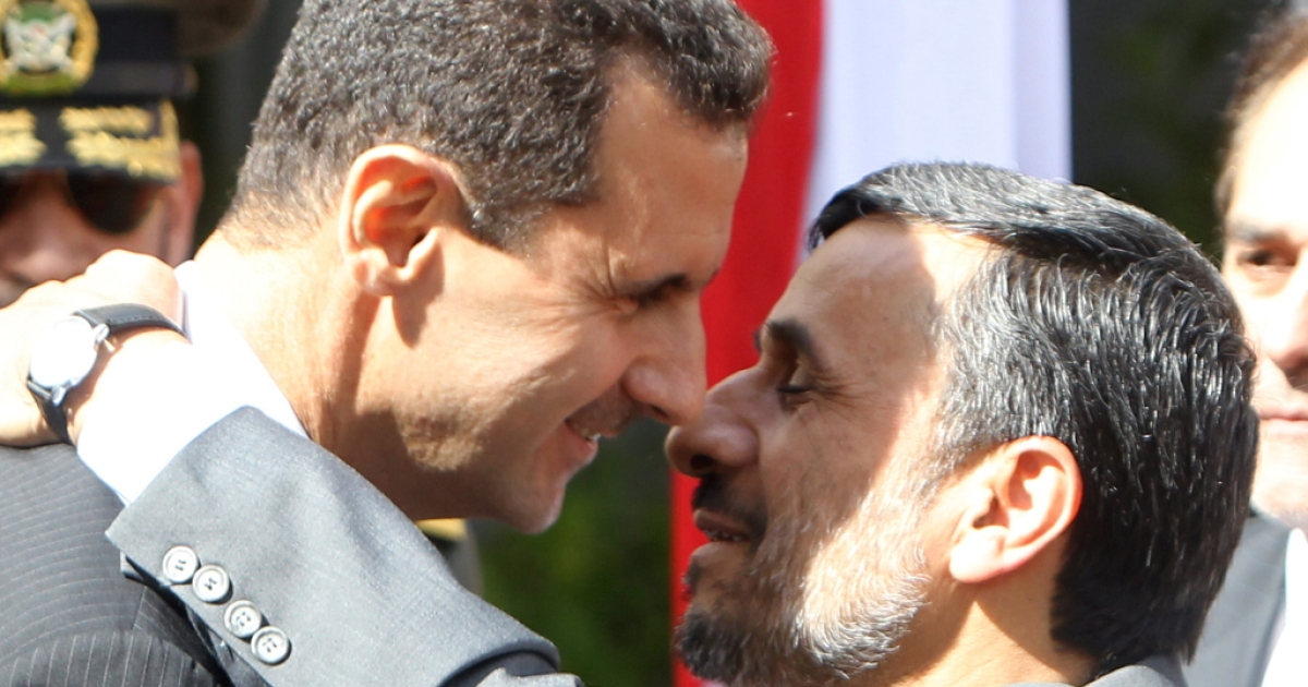 Iranian President Ahmadinejad worries for his ally President Bashar al-Assad and calls for dialogue</p>