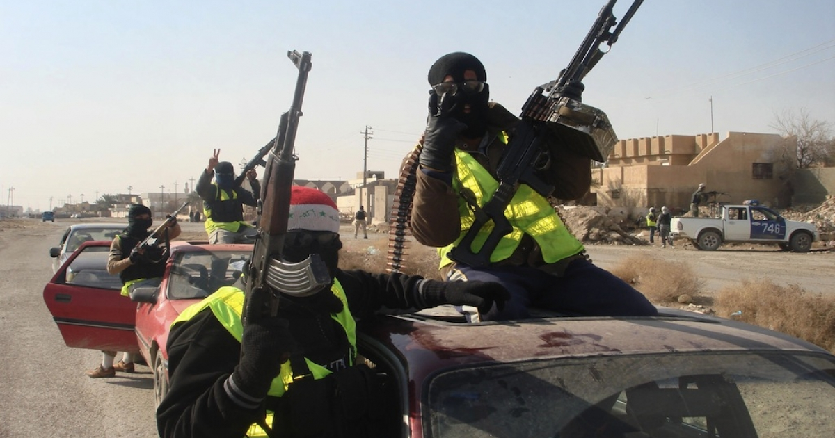 Iraqi militias, like the Sahwa or 'Awakening' militiamen pictured here, have been consistently targeting and murdering Iraqi homosexuals or those who are