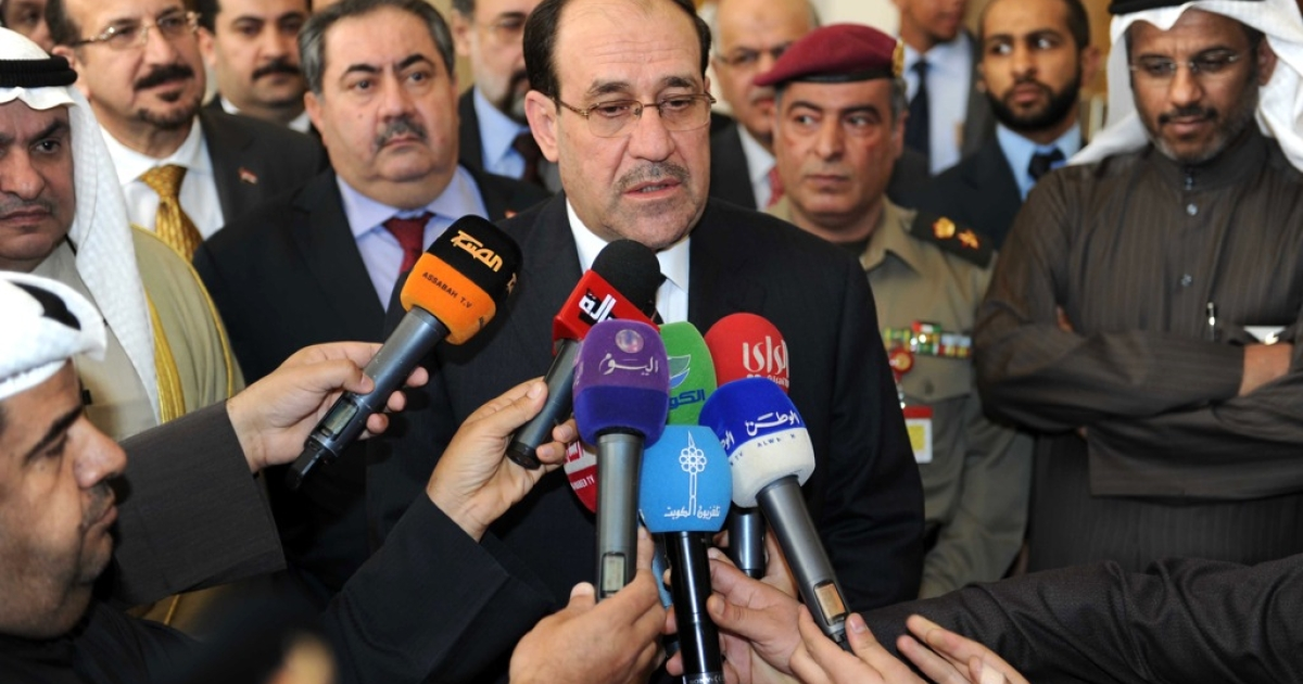 The arms deals, disclosed in a Russian government document issued at a meeting between Russian Prime Minister Dmitry Medvedev and Iraqi Prime Minister Nuri al-Maliki (pictured).</p>