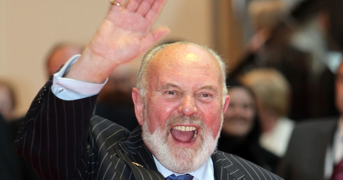Senator David Norris at the Convention Center Dublin on May 19, 2011 in Dublin, Ireland.</p>