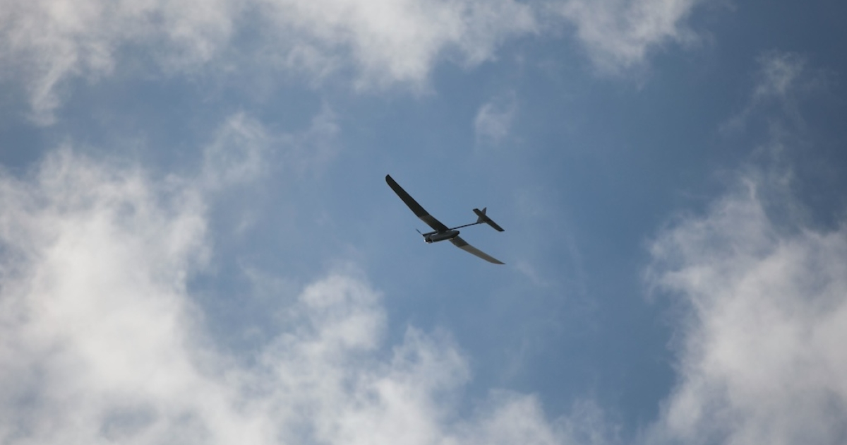 Israel has shot down an unmanned aircraft over the Negev.</p>