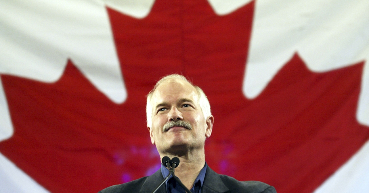 Canadian opposition leader Jack Layton died after a battle with cancer on August 22, 2011. He was 61. Earlier this year, Layton led his socialist-leaning New Democratic Party to official opposition status for the first time in its history.</p>