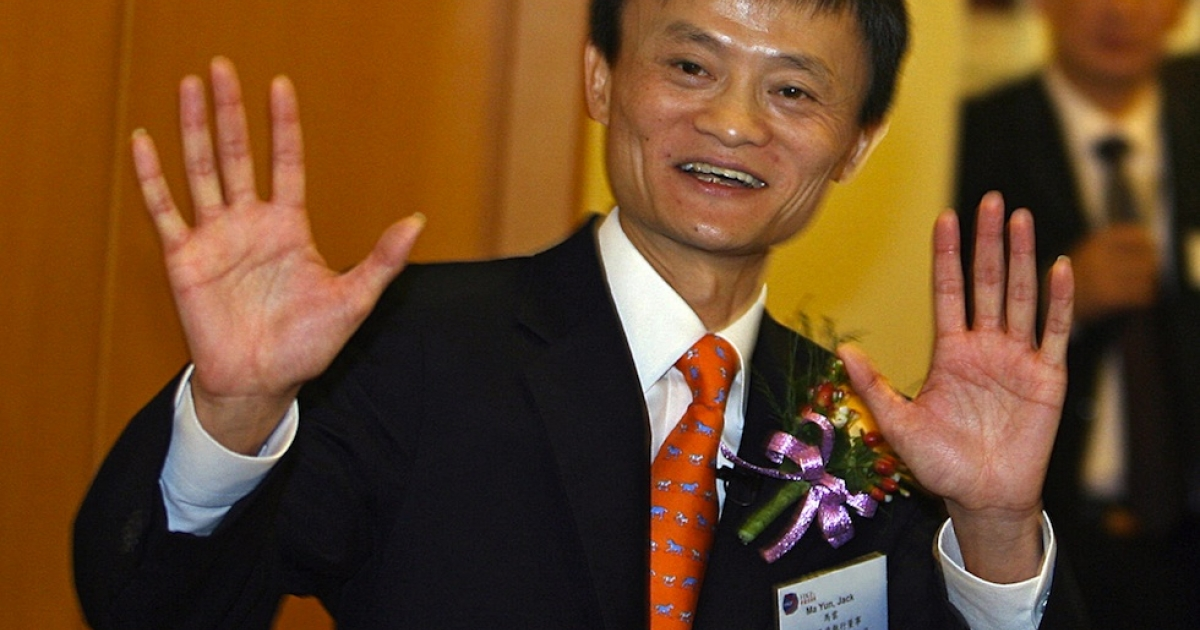 Alibaba chairman and chief executive Jack Ma.</p>