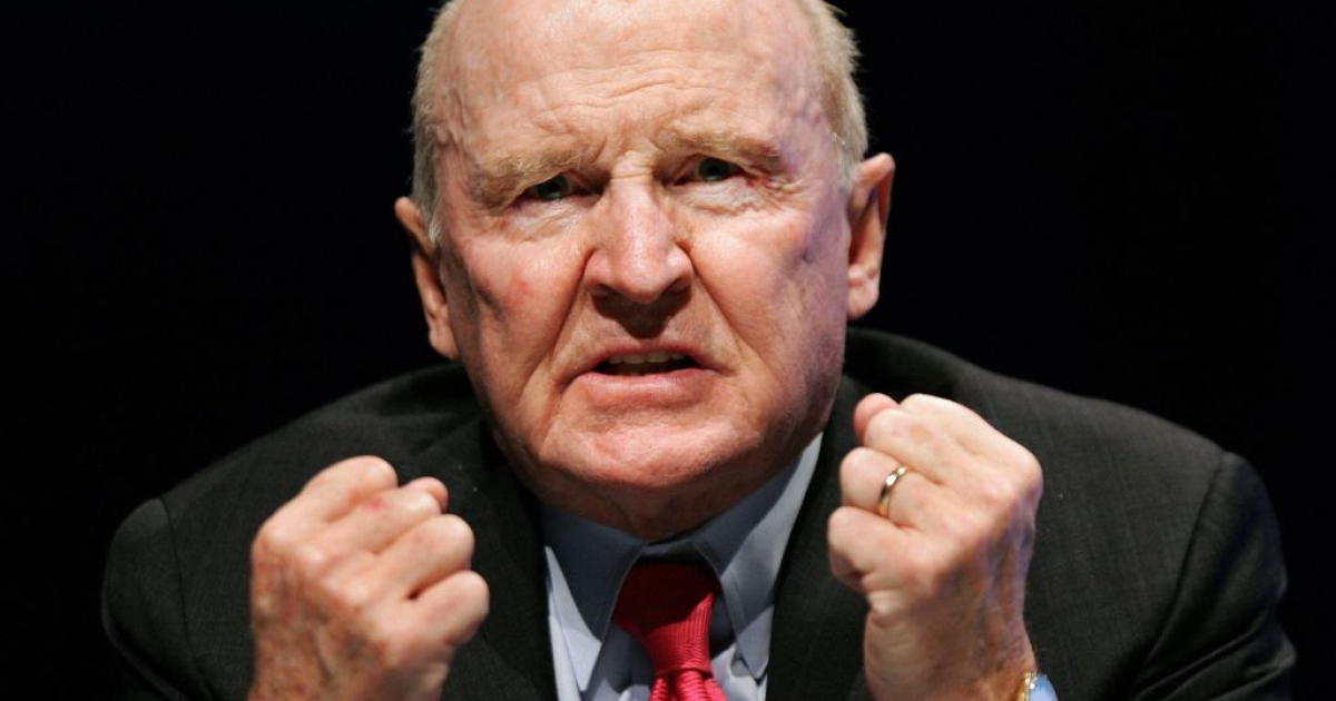 Former GE Chairman, Jack Welch, is ready to fight.</p>