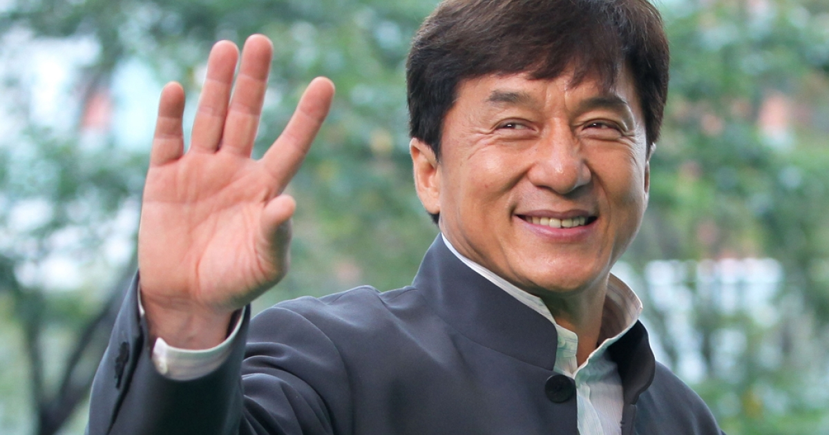 Director and actor Jackie Chan at the 24th Tokyo International Film Festival, Oct. 22, 2011.</p>