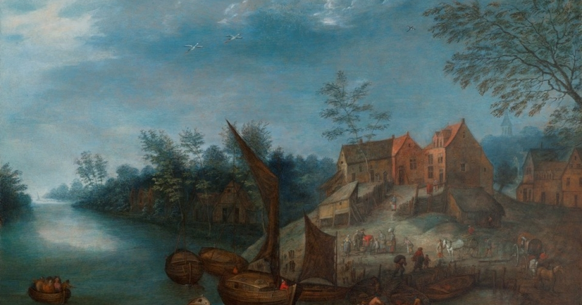 A painting by Jan Brueghel.</p>