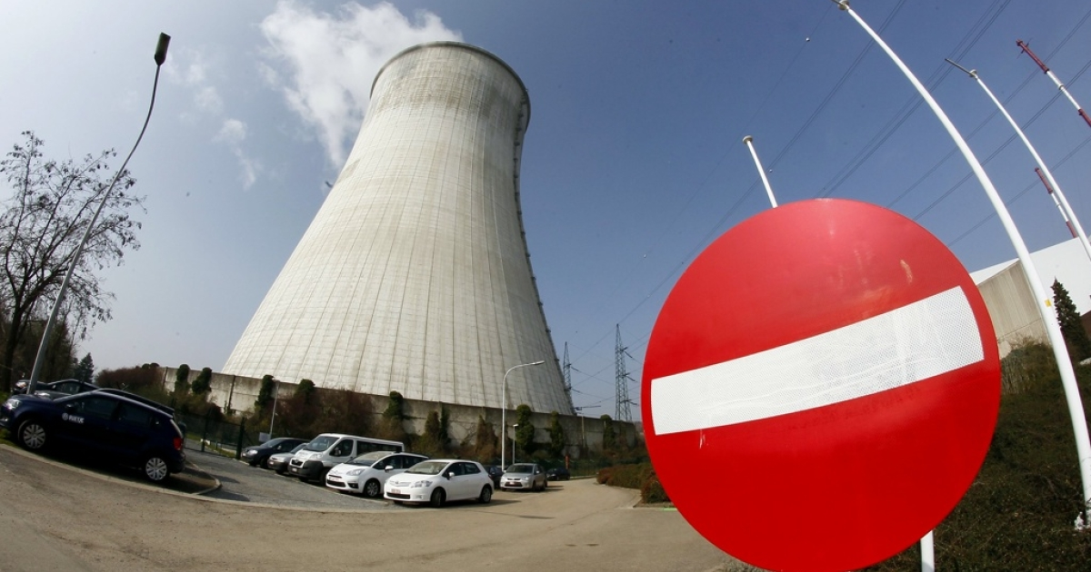 This picture taken on March 16, 2011 shows a general view of the cooling towers at Electrabel's nuclear power plant in Belgium. In the wake of the nuclear accident in Japan, the Belgian power company organized a press conference to clarify the plant's security and safety measures.</p>