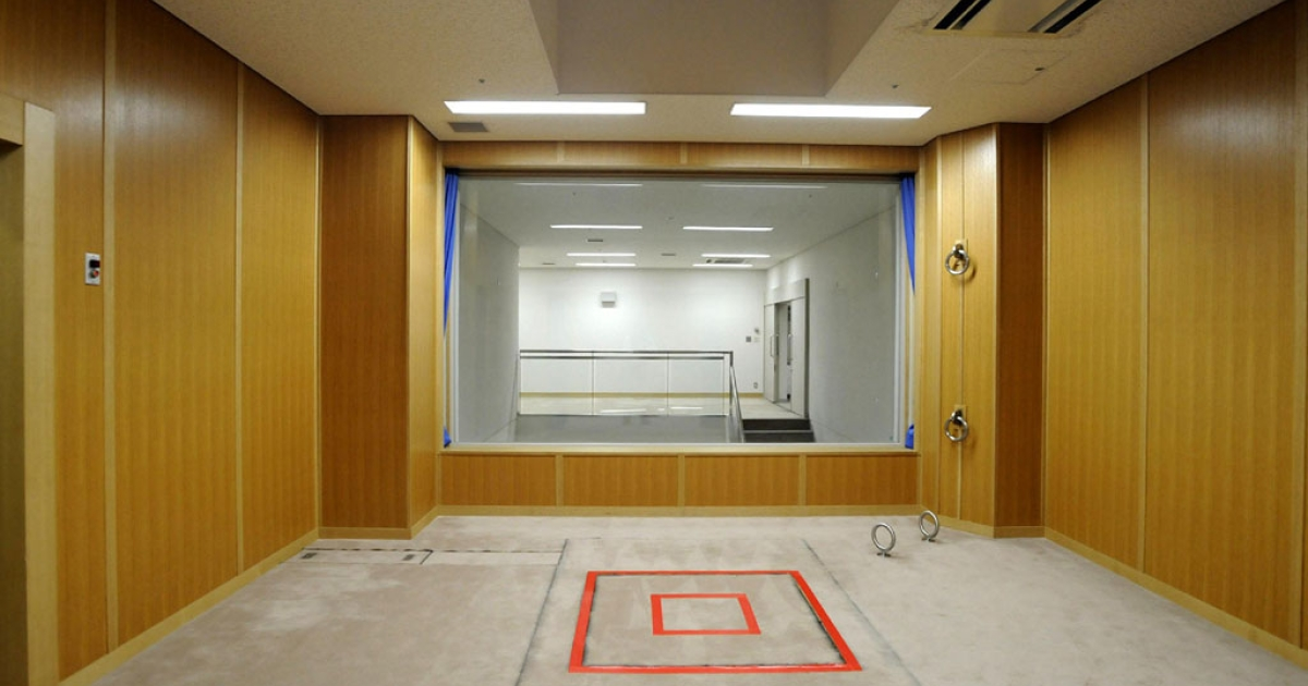 This photo taken during a media tour conducted by Japan's Justice Ministry on Aug. 27, 2010, shows an execution room at the Tokyo detention house. Japan, one of the few industrialized democracies to maintain the death penalty, threw open the doors to its execution chamber for the first time to media.</p>