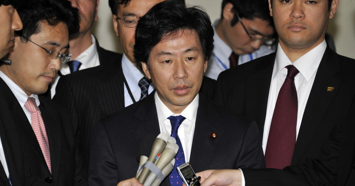 Japan's Finance Minister Jun Azumi intervened and lowered the yen on Monday.</p>