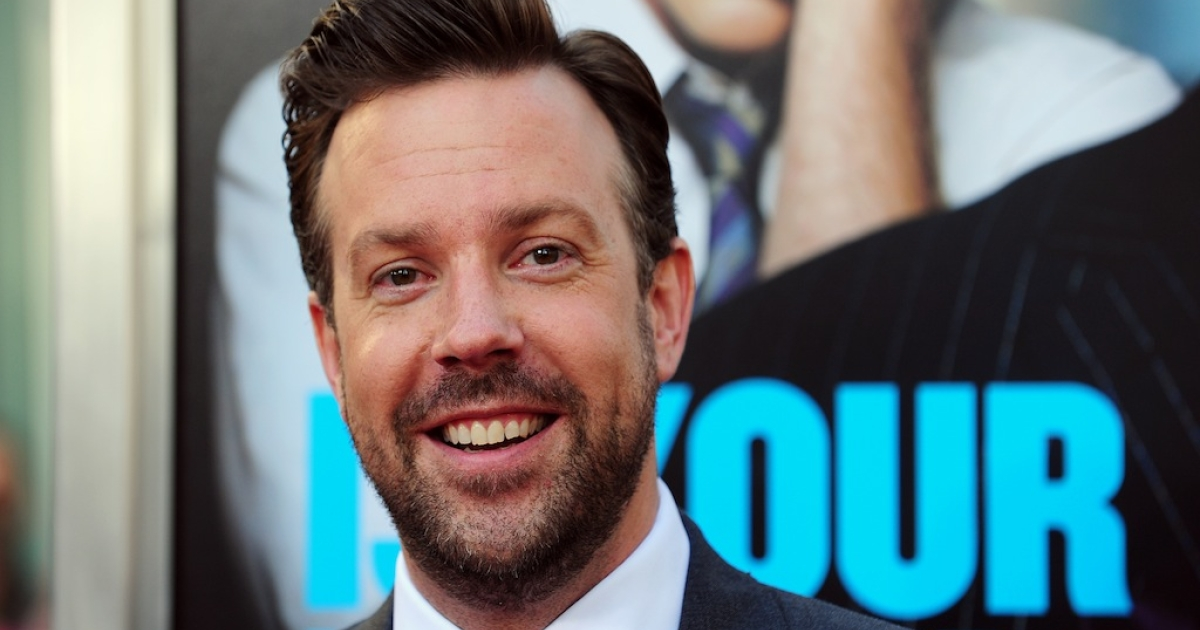 Jason Sudeikis arrives for the Los Angeles premiere of 'Horrible Bosses,' June 30 2011 at Grauman's Chinese Theater in Hollywood, California.</p>