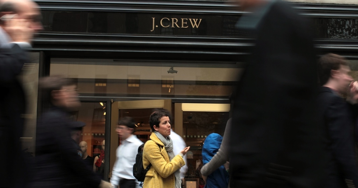 When customers flocked to the late August opening of the retailer's Toronto outlet, prices on average were 15 percent higher, before taxes, than in J. Crew's U.S. stores.</p>