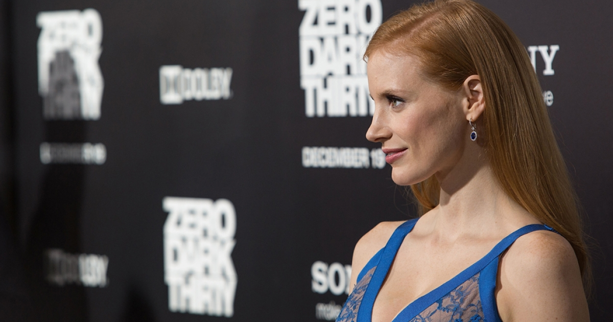 Actress Jessica Chastain arrives at the