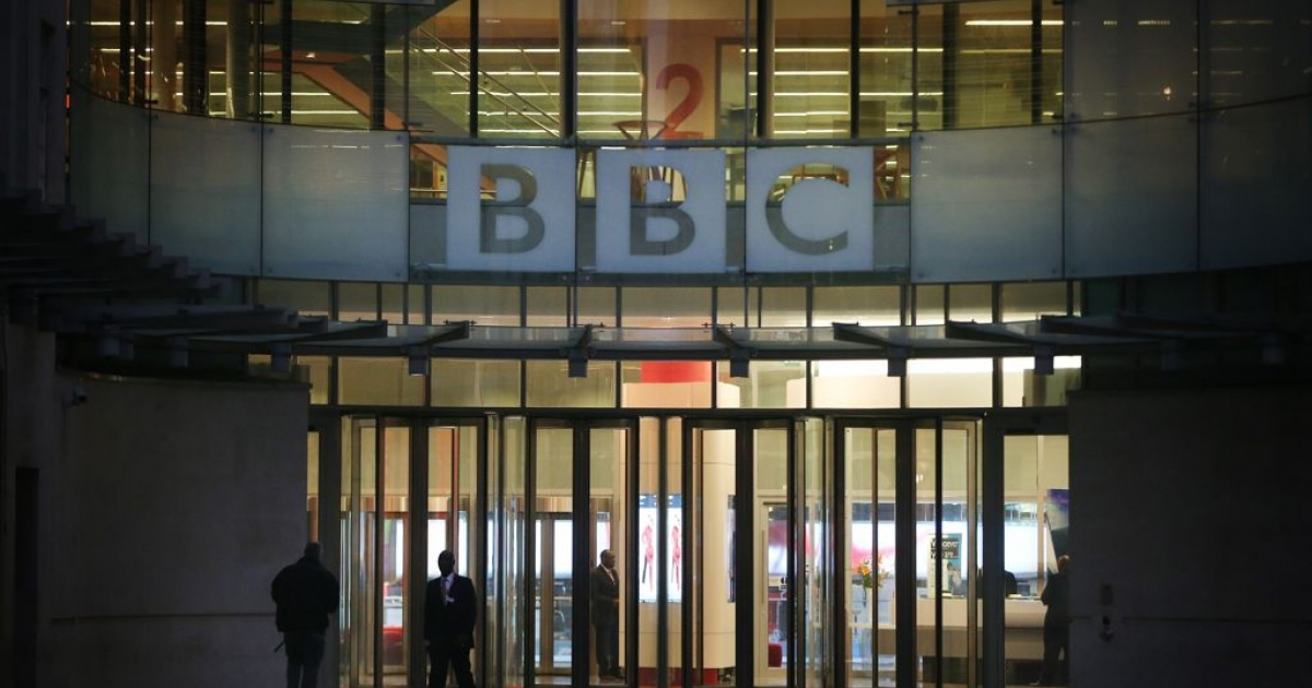 BBC Broadcasting House in London. The accusations of widespread abuse by former presenter Jimmy Savile, some of it on BBC premises, have led to one of the worst crises in the broadcaster's history.</p>
