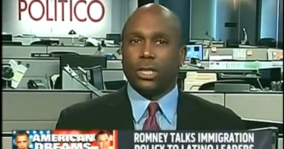 Joe Williams has been suspended from Politico over his racially motivated comments on MSNBC about Mitt Romney.</p>