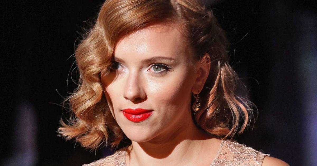 Actress Scarlett Johansson attends the Dolce &amp; Gabbana Spring/Summer 2012 fashion show as part Milan Womenswear Fashion Week on September 25, 2011 in Milan, Italy.</p>