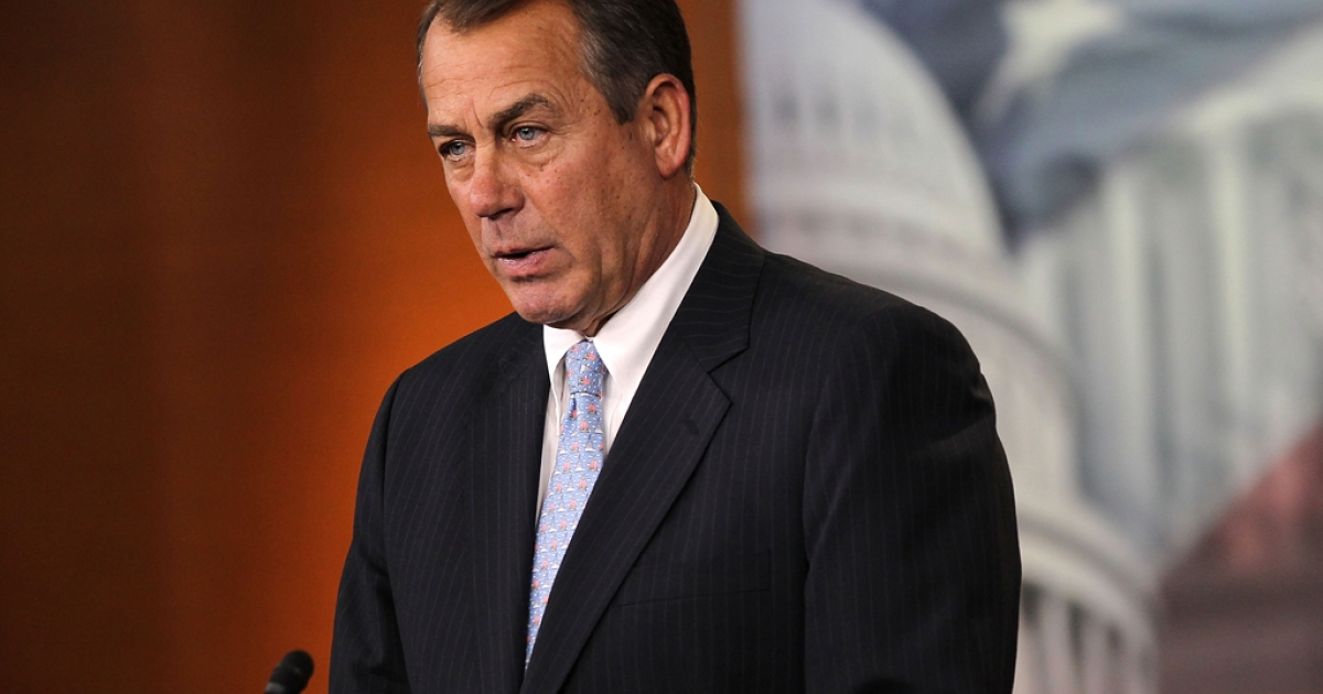 Speaker of the House Rep. John Boehner (R-OH) rejected an opening bid budget offer from the White House.</p>