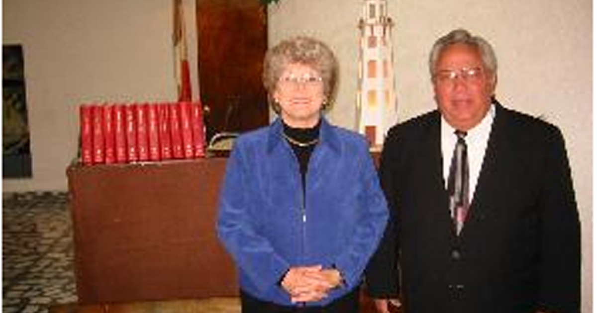 John and Wanda Casias, husband and wife, appear in this photograph on their website, casias.org. The couple were found murdered on Tuesday.</p>