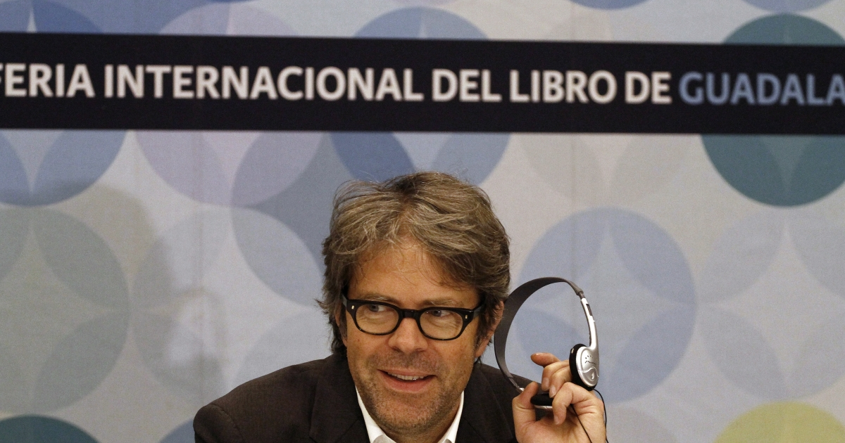 American novelist Jonathan Franzen is one of hundreds of authors attending the Guadalajara International Book Fair, which opened this weekend.</p>