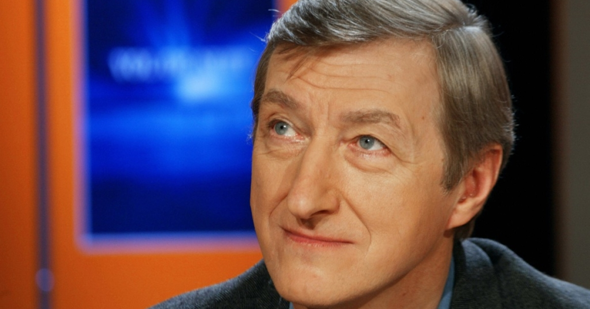 British writer Julian Barnes is seen in Paris on January 6, 2004.</p>
