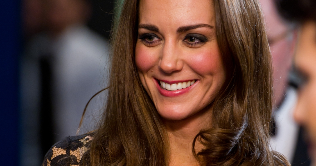LONDON, ENGLAND - JANUARY 08:  Catherine, Duchess of Cambridge attends the UK premiere of War Horse at the Odeon Leicester Square on January 8, 2012 in London, England.  (Photo by Ian Gavan/Getty Images)</p>