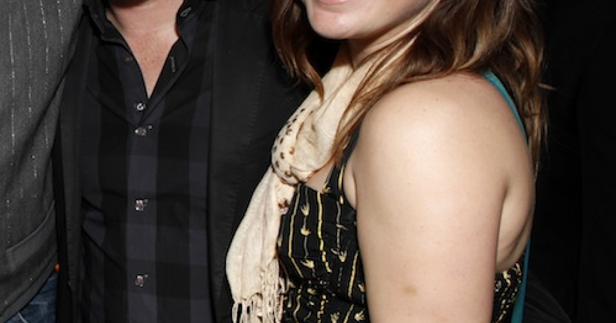 LOS ANGELES, CA - FEBRUARY 12:   Brandon Blackstock and Kelly Clarkson attend Warner Music Group Grammy Celebration hosted by InStyle at Chateau Marmont on February 12, 2012 in Los Angeles, California.</p>