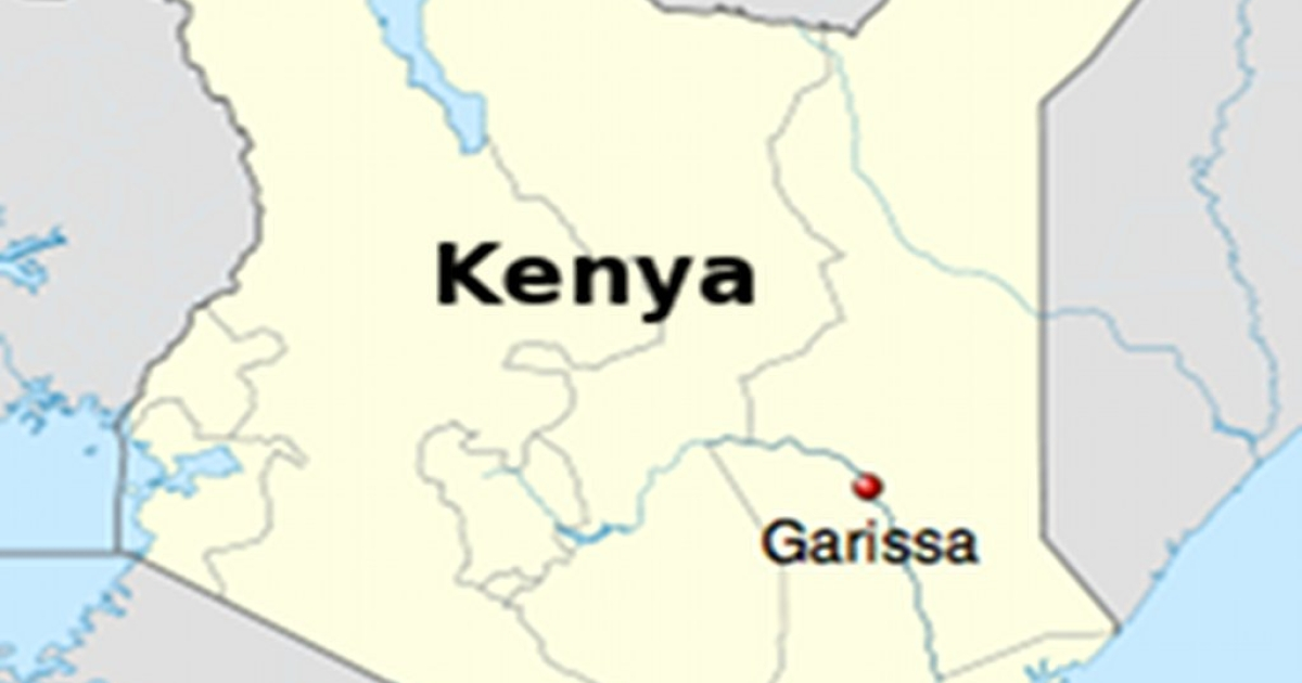 The town of Garissa is not far from Kenya's eastern border with Somalia.</p>