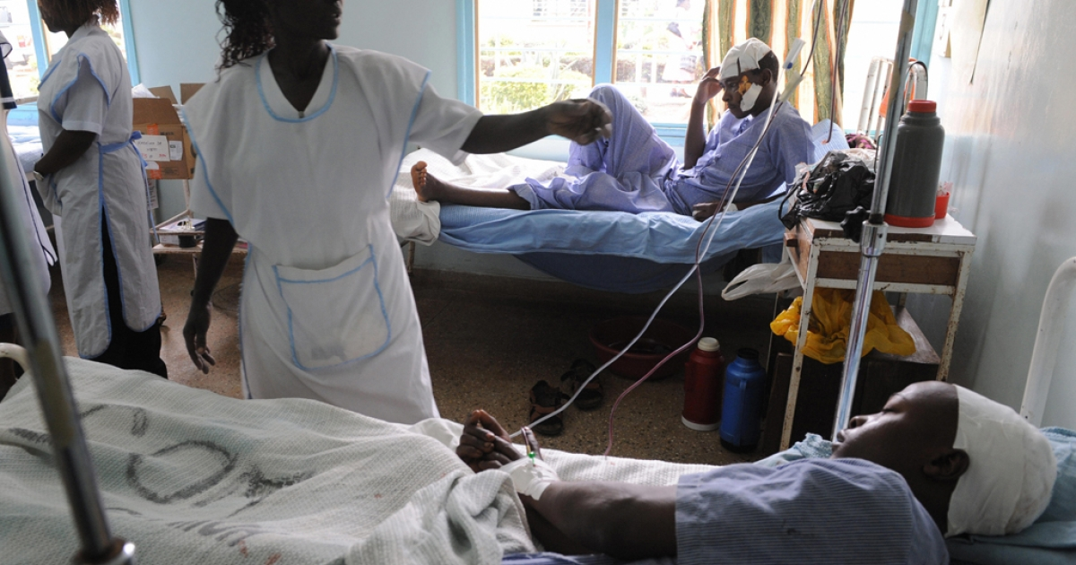 Kenya's public health care workers were fired en masse by the country's government after they refused to end their strike to return to work.</p>