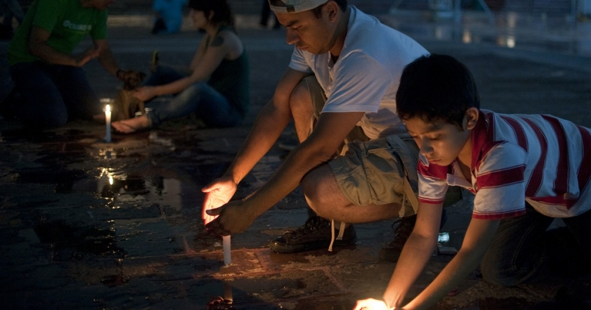 Children mourn another loss in the drug war.</p>