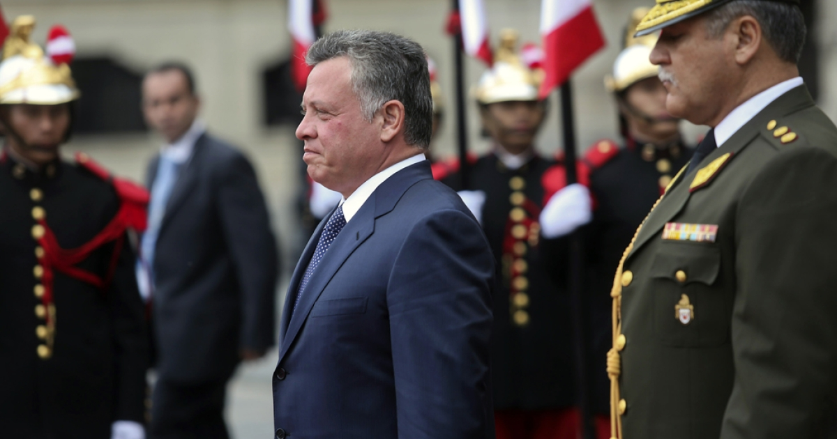 King Abdullah II of Jordan.</p>